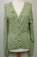 LAURA ASHLEY (UK Size 14-16) Soft Bamboo Green Cardigan Light Weight Top