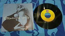 Madonna Rescue me press 1991 France rare EX EX  usato 45 giri