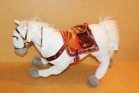 "Disney Store Maximus White Horse Plush From Tangled 14"" Poseable Legs"