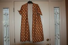 Tory Burch Haley Coat Gold Printed Silk Jacket Size 4 fit a 6 or a 8 ~ NWT