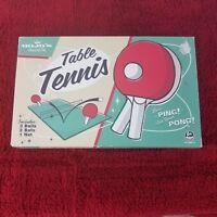 Vintage Mojos House of Fun Table Tennis Ping Pong Set 3 Balls 2 Bats 1 Net Box