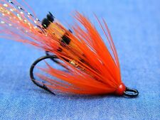 Red Ally's shrimp double hook fly (fully dressed) Atlantic Salmon / Steelhead