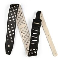 Dunlop BMF07BK Bmf Guitar Bass Strap, Square Perforations