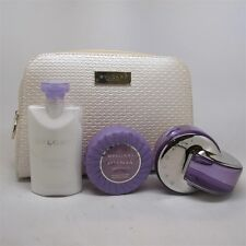Omnia Amethyste by Bvlgari 4 Pc Set: 2.2 oz EDT Spray, Body Lotion, Soap & Bag