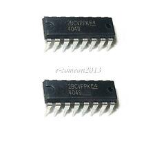 New 10PCS CD4049 / HEF4049 / HCF4049 hex inverter (buffer) DIP-16 IC