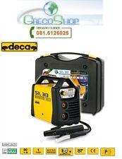 Saldatrice INVERTER ad elettrodo 130 Amp c/ valigetta e accessori Deca - SIL 313