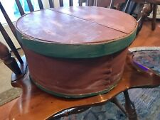 Vintage Dufeck's Wood Cheese Box /16 inches in diameter