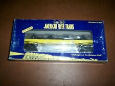 American Flyer #48226 National Toy Train Museum Flat Car with Wheels.