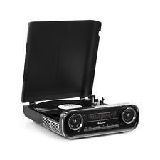 Schallplattenspieler Auna Challenger Bluetooth Mp3 USB Player Lautsprecher Radio