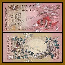 Sri Lanka 2 Rupees, 1979 P-83 Unc
