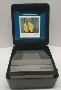 Vintage p2629B polaroid spectre system/w case