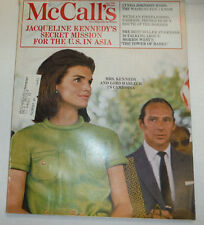 McCall's Magazine Jackie Kennedy Lord Harlech In Cambodia June 1968 021615R