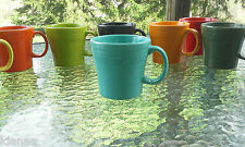 Tapered/ Squat coffee MUG turquoise blue NEW FIESTAWARE FIESTA WARE 15OZ 1st NWT
