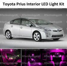 PINK PURPLE PREMIUM TOYOTA PRIUS 2009-2015 INTERIOR UPGRADE LED LIGHT BULBS KIT