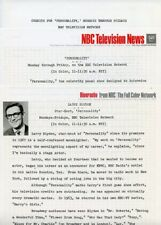LARRY BLYDEN PERSONALITY GAME SHOW RARE ORIGINAL 1969 NBC TV PRESS MATERIAL