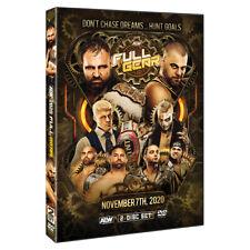 Official AEW All Elite Wrestling - Full Gear 2020 Event 2 Disc DVD ( Pre-Order)