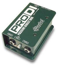 Radial ProDI Passive Direct Box for Stage and Studio