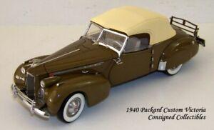 Franklin Mint 1940 PACKARD CUSTOM VICTORIA LTD.ED. 1/24 NEW!