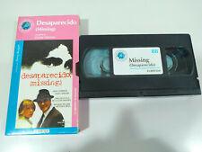 DESAPARECIDO MISSING COSTA-GAVRAS LEMMON - Pelicula VHS Castellano