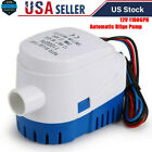 Automatic Submersible Boat Bilge Water Pump With Auto Float Switch(12V,1100GPH) photo
