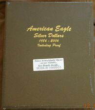 Dansco Album 8181 American Silver Eagles includes PROOFS 1986-2006