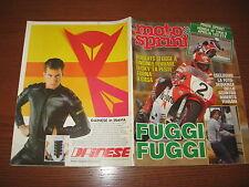 MOTOSPRINT 1984/14 TEST HONDA VF 1000 R ASPRILIA 125 STX PUBBLICITA' DAINESE