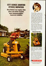 1972 Vintage ad for The New Bolens Riding Mower/rear engine rider (071113)
