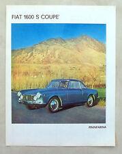 E461-Advertising Pubblicità-1964-FIAT 1600 S COUPE' PININFARINA