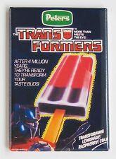 Transformers Ice Cream FRIDGE MAGNET (2 x 3 inches) sign optimus prime