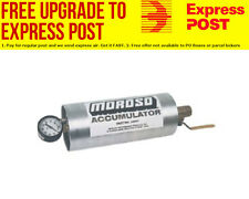 "Moroso Oil Accumulator 1.4Ltr Capacity, 10"" x 4-1/4"" Cylinder"