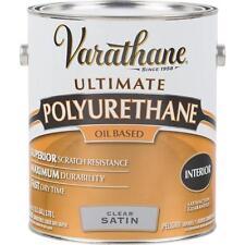 2 Gal Varathane Interior Clear Oil Based Satin Furniture Polyurethane 9131