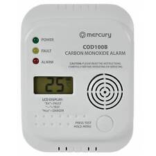Carbon Monoxide Alarm / Detector - COD100B - CO Digital Display (7 Year Life)