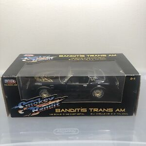 RCErtl American Muscle 1977 Smokey & The Bandit Trans Am Diecast 1:18 Car New