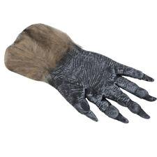 Halloween Werewolf Ghost Festival Hairy Gloves Simulation Wolf Claw Mittens HD