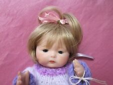 """""""TYNIE BABY""""PORCELAIN REPRODUCTION DOLL,HANDMADE BY ARTIST,WEARING KNITTED DRESS"""