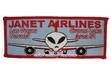 USAF Black Ops Special Projects Division Area 51 Janet Airlines 737 Patch New