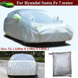 Full Car Cover Waterproof/Dustproof Cover for Hyundai Santa Fe 7-seat 2013-2021