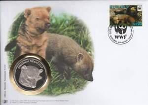 Numisbrief WWF 2011 Guyana - Speothos Venaticus / Boshond (010)