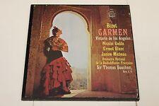BIZET: CARMEN - 3 LP Set. VICTORIA DE LOS ANGELES - Sir Thomas Beecham- ANGEL