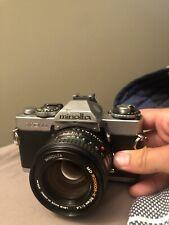 Minolta XD-11 35mm Camera Body & Lens MD Rokkor-X 50mm 1:1.4 Good Shape