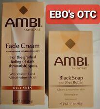 AMBI Skincare Fade Cream Oily Skin 2oz, Combo