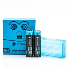 2X EFAN IMR 18650 3100mAh 40A Batteries | Authentic High Drain Flat Top Battery