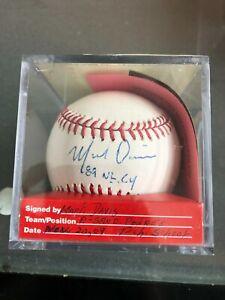 MLB San Diego Padres Mark Davis 1989 NL Cy Young Autograph Baseball