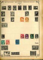 CANADA STAMP COLLECTION Schaubeck Album page 1880s-1930s