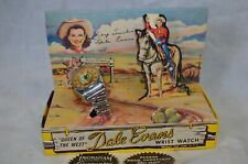 """""""Queen Of The West� Dale Evans Wrist Watch W/Box Ingraham 1950'S"""