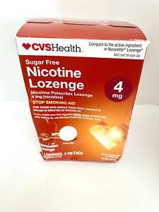 Cvs Health Sugar Free Nicotine Lozenge 4mg Cinnamon 96pcs EXP 11/21