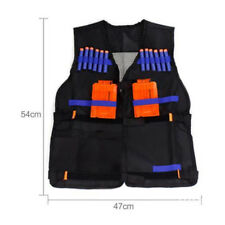 Tactical Vest Kids Toys Gun Clip Jacket Foam Bullet Holder For Nerf N-strike UK
