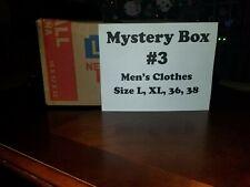 Mystery Men's Box #3 Clothes Size L, Xl, 36, 38