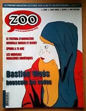 magazine ZOO n° 45 NEUF (bande dessinée) Angoulème Spirou Bastien Vivès Uderzo