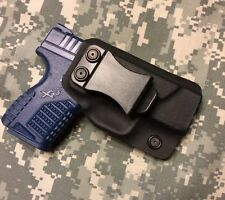"IWB CCW Kydex Holster ""Minion"" For Springfield XDs, Black"